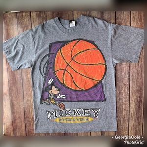 Vintage Disney Unlimited Mickey Athletics T-Shirt